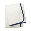 Wrap Me Up Bath Sheet - MONTAGUE & CAPULET-Ivory / Sapphire Blue / Plain - 44