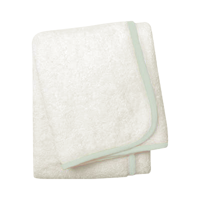 Wrap Me Up Bath Towel - MONTAGUE & CAPULET-White / Seafoam / Plain - 16
