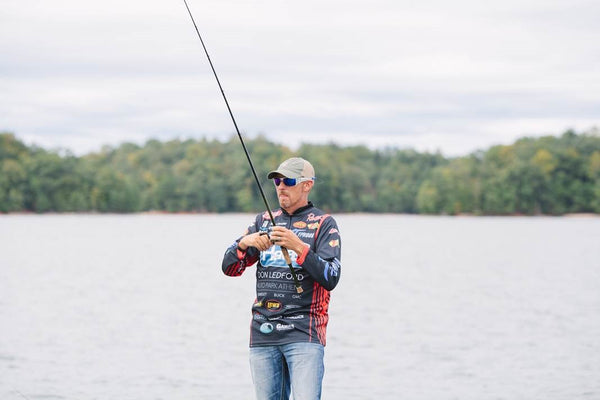 Wesley Strader, Thinking about fishing while hunting