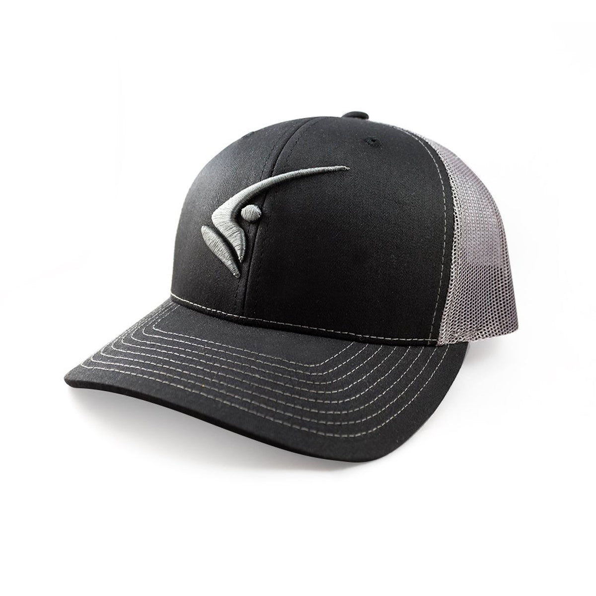 5851a00f7e889 Richardson 112 Trucker Cap with 3D Fish Head Logo