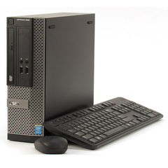 Dell Optiplex 3020 SFF Business Desktop - 3.10GHz Intel Pentium Processor G3240, 8GB DDR3 Memory, DVD, Windows 10 Professional 64 bit - Keyboard & Mouse