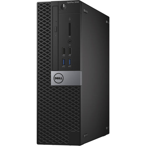 Dell OptiPlex 5040 SFF Computer - 6th Gen Intel Core i5-6500 3.20GHz Quad Core Processor, WIFI, DVDRW, Windows 10 Professional, Keyboard & Mouse