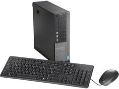 Dell OptiPlex 7020 SFF Business Computer - 4th Gen Intel Core i7-4790 3.60GHz Quad Core Processor (turbo up to 4.00 GHz), 8GB Memory, 500GB HDD, DVDRW, Windows 10 Professional - Keyboard & Mouse
