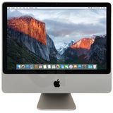 "Apple iMac 24"" - Intel Core 2 Duo 3.06Ghz, 500GB HDD, 4GB Ram, 1920 x1200 Res, OSX 10.11 El Capitan - Keyboard/Mouse - A1225 MB420LL/A - Grade B"