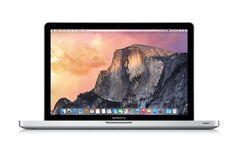 "Apple MacBook Pro 15.4"" Laptop - Core i7 2.30GHz Quad (up to 3.40GHz), 8GB RAM, 500GB HDD, NVIDIA GeForce GT 650M, MacOS High Sierra 10.13, ""Unibody"" A1286 MD103LL/A (Mid 2012)"