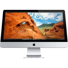 "Apple iMac ""Core i5"" 2.9 27-Inch (Late 2012) MD095LL/A A1419 (Aluminum) - Intel Core i5 2.9GHz Quad, 16GB RAM, 256GB SSD, MacOS MOJAVE - Grade B"