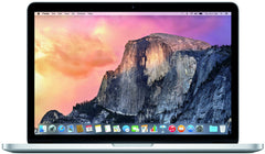 "Apple MacBook Pro 13.3"" Retina (2015) Core i5 2.7GHz A1502 MF839LL/A, 256GB SSD, 8GB RAM, MacOS Mojave v10.14 - A1502 MF839LL/A"