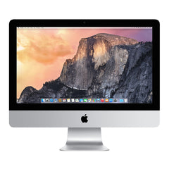 Apple iMac A1418 MK442LL/A (Late 2015) 21.5-Inch Desktop (Intel Core i5 Quad-core 2.8 GHz, 8 GB RAM, 1 TB HDD, Thunderbolt, Mac OS X Mojave), Silver, Apple USB Keyboard & Mouse Included