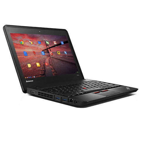 "Lenovo ThinkPad X131E 11.6"" Chromebook - 1.50 GHz Intel Celeron 1007U, 4 GB Memory, 16 GB SSD, WebCam, Chrome OS"