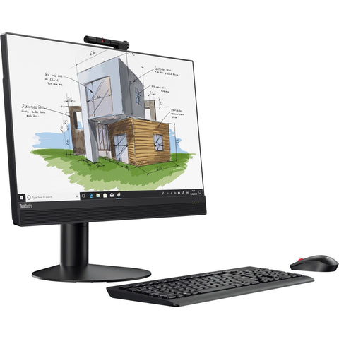 "Lenovo All-in-One ThinkCentre M920z 23.8"" AIO Touchscreen Computer - 8th Gen Intel Core i5-8500 (3.00 GHz) 8 GB DDR4 256 GB SSD Windows 10 Pro 64-bit (NEW-OPENBOX)"