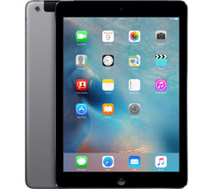 "Apple iPad Air Gen 1 Unlocked - 32GB Flash Storage, 9.7"" Touchscreen, Cellular 4G LTE + WiFi, iOS 11, Space Gray - A1475 MF003LLA Tablet"
