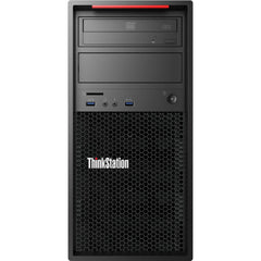 Lenovo ThinkStation P300 MT Workstation - Xeon E3-1226 v3 3.3GHz 4-Cores, 8GB DDR3, 240GB SSD + 1TB HDD, nVidia Quadro K600, DVDRW, Windows 10 Pro, Keyboard & Mouse