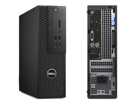 Dell Precision 3420 SFF Workstation - 6th Gen Intel Quad-Core i5-6500 Upto 3.60Hz, 16GB DDR4, NEW 480GB SSD, DVD-RW, Nvidia NVS 310 1GB 2 DP - Dual Monitor Capable, Windows 10 Pro, Keyboard/Mouse