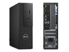 Dell Precision 3420 SFF Workstation (NEW-OPENBOX) - 6th Gen Intel Quad-Core i5-6500 Upto 3.60Hz, 16GB DDR4, NEW 480GB SSD, DVD-RW, Nvidia NVS 310 1GB 2 DP - Dual Monitor Capable, Windows 10 Pro, Keyboard/Mouse