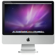 "Apple All-in-One iMac 20"" Core 2 Duo 2.26 GHz, 4 GB RAM, 160 GB HDD, WebCam, AirPort Extreme, Mac OS X 10.11 El Capitan (A1224 MC015LL/B)"