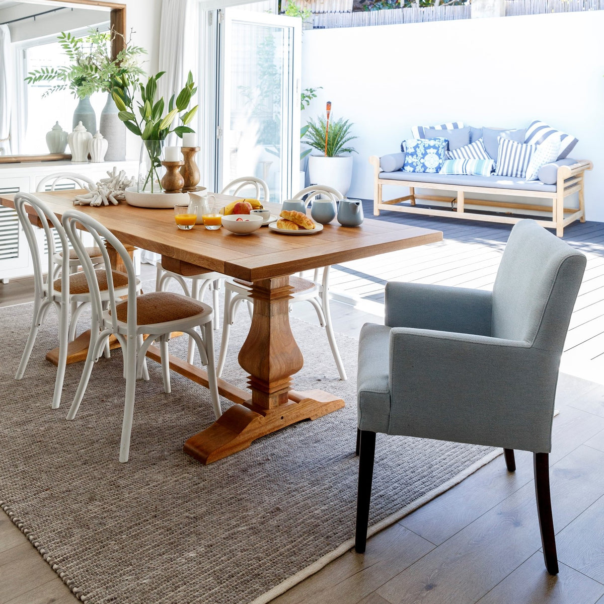 Dining Room Tables Perth: Hamptons Style Dining Room Furniture