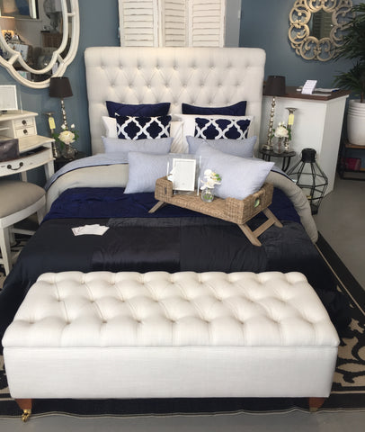 Autumn/Winter Styling Tip No.4 - Hamptons Bedroom – Henry & Oliver Co.