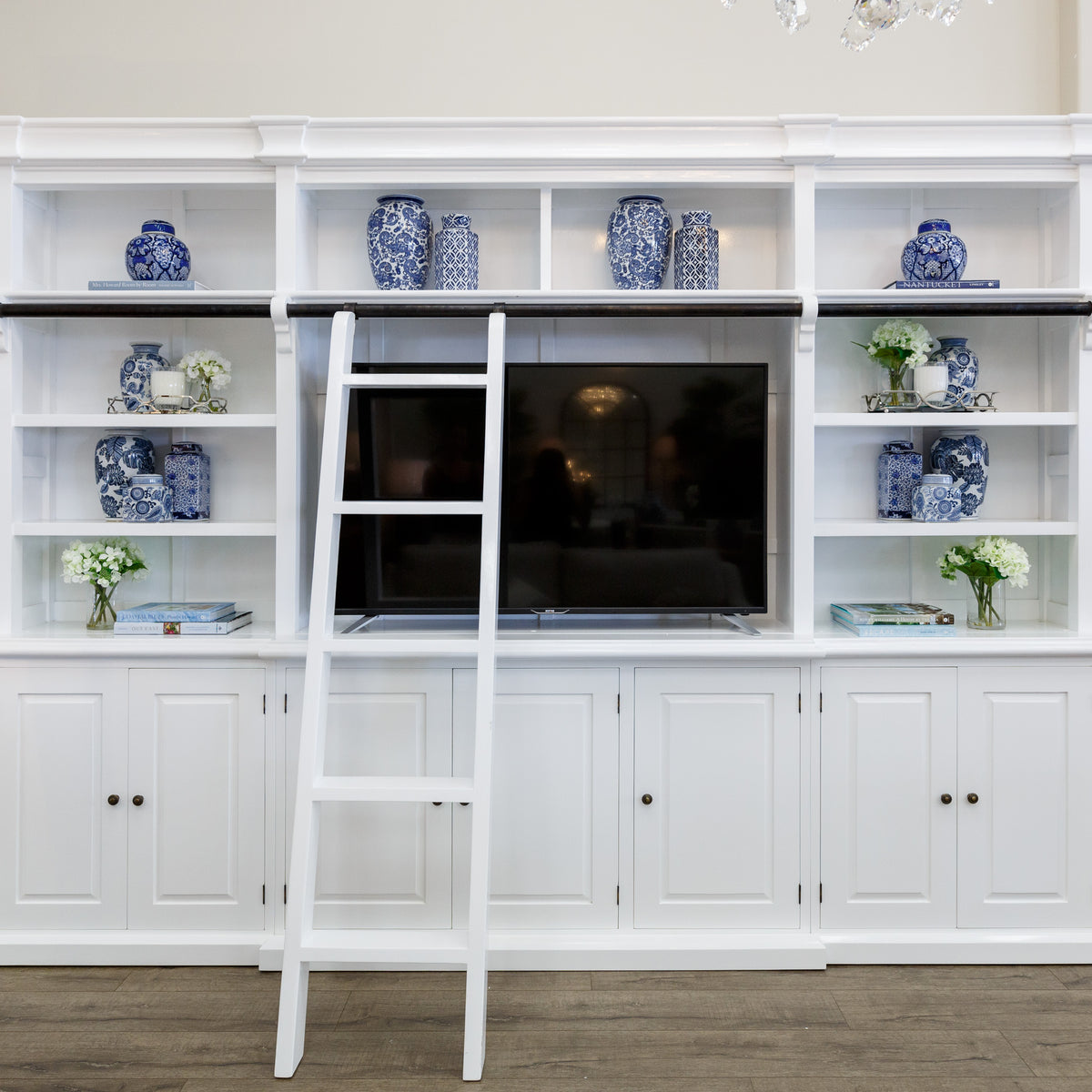 Library Bookcase Hamptons Style Furniture Perth
