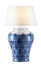 South Fork Lamp w/Ivory Shade
