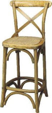 Montauk Cross Back Barstool