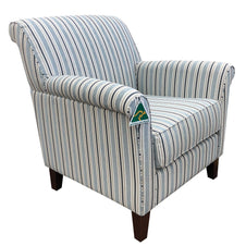 Brooklyn Chair - Stripe - Australian Made