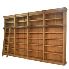 Custom Library Bookcase 4m