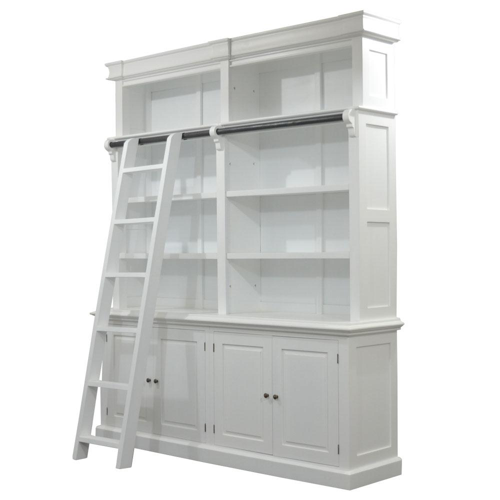 Library Bookcase Hamptons Style Furniture Perth Australian Owned Henry Amp Oliver Co