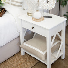Catherine 1 Drawer Bedside