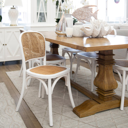 Willow Rattan Dining Chair Perth Furniture Online Furniture Henry Oliver Co