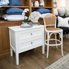 Catherine 2 Drawer Bedside