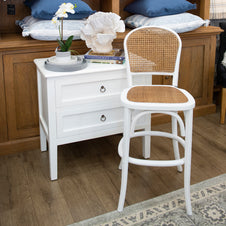 Willow Barstool - White