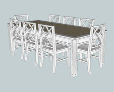 Providence Dining Table 240cm