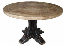 Hudson Hamptons Round Dining Table - Black