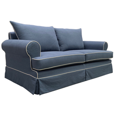 Sag Harbour Sofa - 2.5 Seater (Blue)