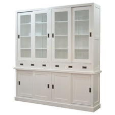 Catherine Sliding Door Cabinet (Square Edge)