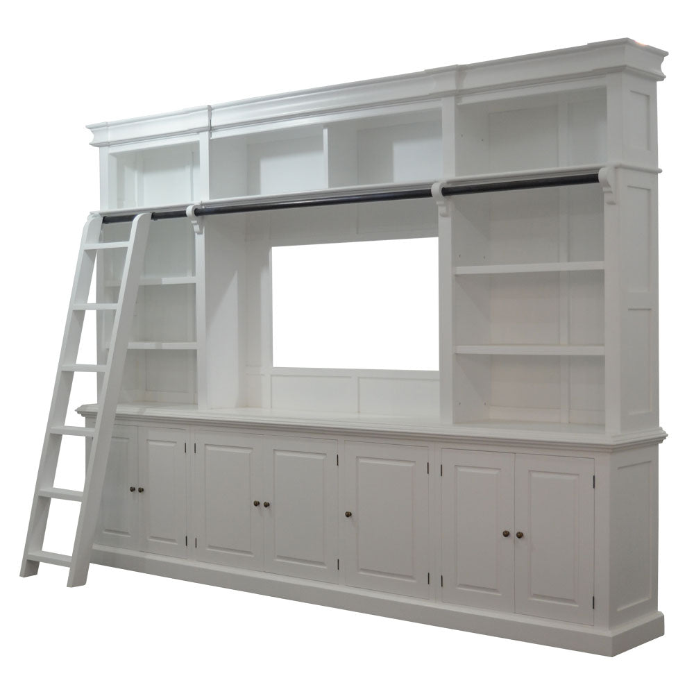 Library Bookcase - Hamptons Style Furniture Perth - Australian Owned ...