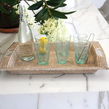 Whitewash Rosa Tray SML