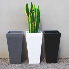 Windsor Tall Square Planter