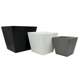 Root and Stock Saratoga Square Planter Set