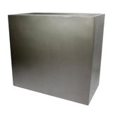 Root and Stock Calistoga Tall Rectangle Planter Box Grey Angle