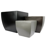 Root and Stock Pacifica Square Curved Planter Box Set