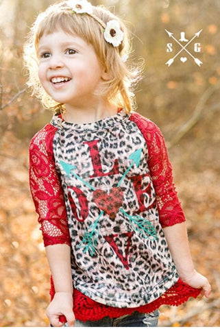 Kids LOVE lace top