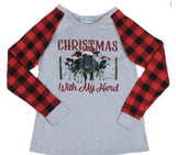 "Christmas with my herd ""girls"" tee"