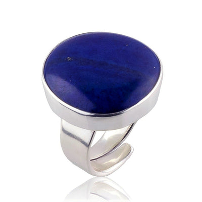 Aqua Addiction Large Lapis Lazuli Ring from Mexico