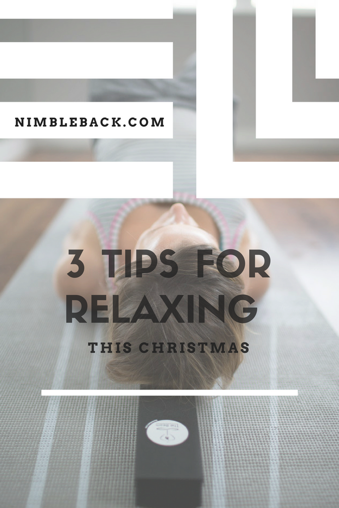 Relax your back this Christmas with Nimble back
