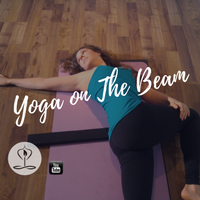 Yoga On the Beam | The beam by nimbleback Inc.