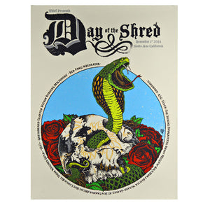 """Day Of The Shred 2014"" Poster"