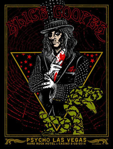 """Alice Cooper"" POSTER"