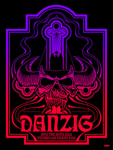 DANZIG - BLACKLIGHT POSTER