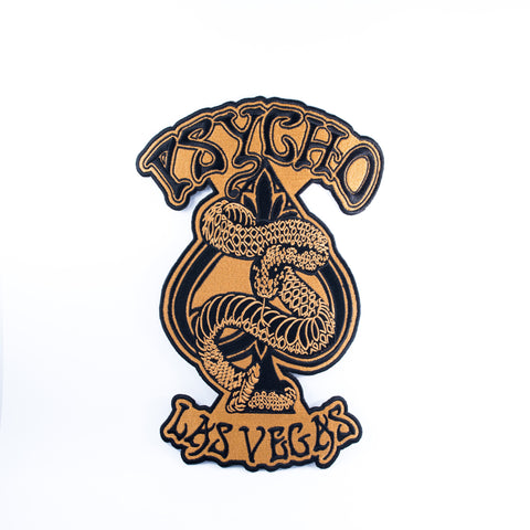 """Psycho Vegas"" Back Patch"